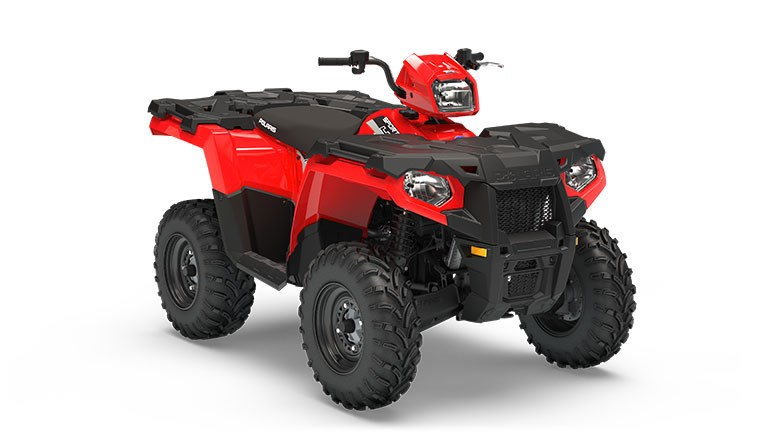 2019 Polaris Sportsman 450 EPS Indy Red